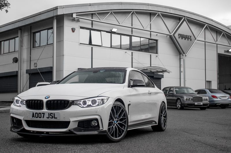 BMW 435i Decat Downpipe Supplied & Fitted By The Bavarians